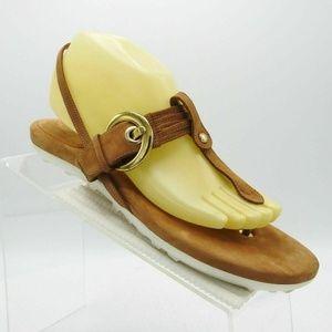 Stuart Weitzman Size 10 M Brown Sandals C2A B30